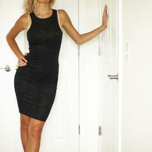 Dresses & Skirts - Soft black suede dress